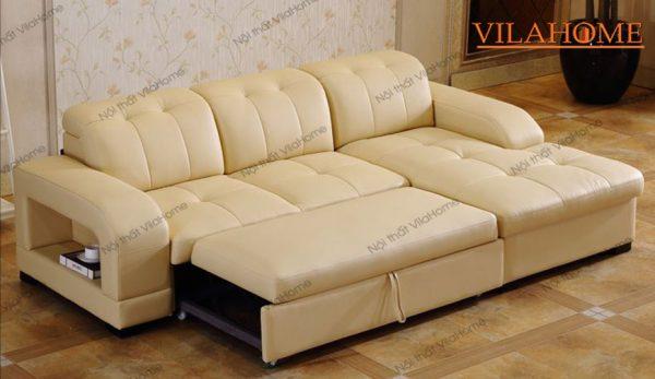 Sofa giường da sang trọng